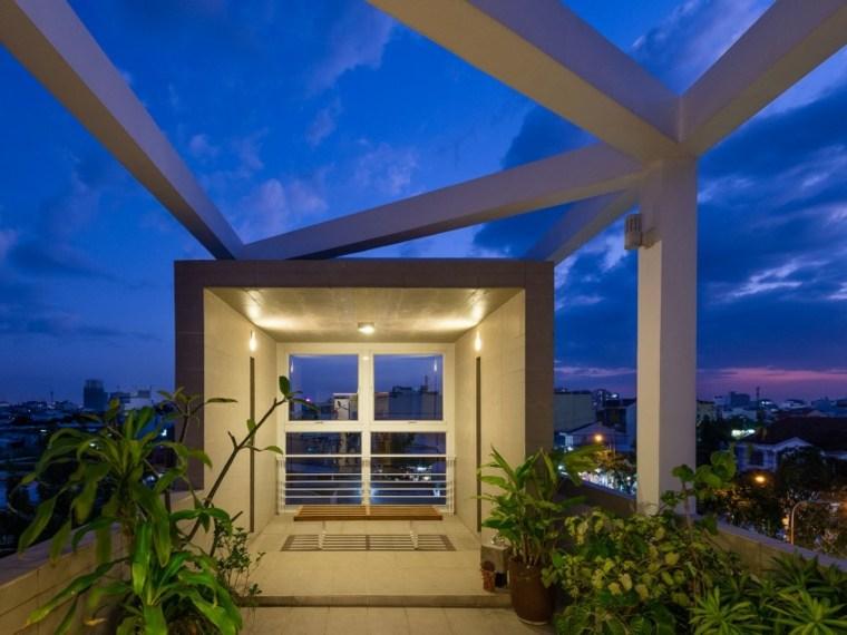 nature arch studio casa diseno terraza iluminada ideas