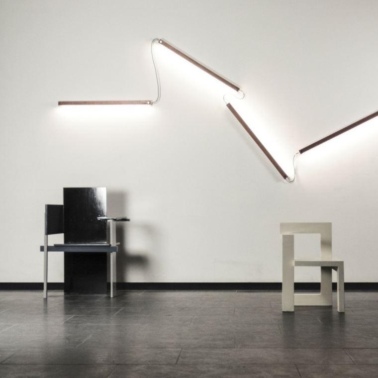 Per Meter iluminacion madera pared ideas