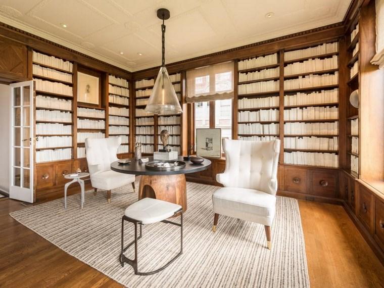 Veinte ejemplos de habitaciones de lectura de dise o - Sillones para lectura ...