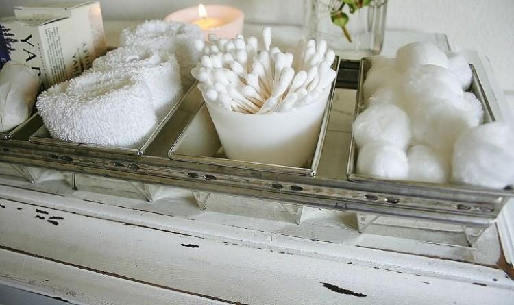 Romanticismo y dulzura en el baño   50 diseños shabby chic