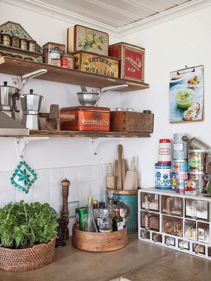 Diseño de cocinas Shabby chic - abra paso a la dulzura -