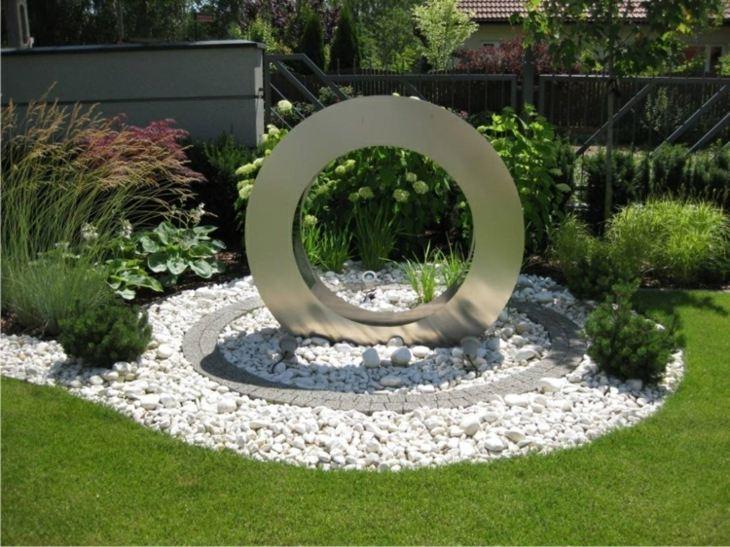 acero inoxidable blanco circulares circulares