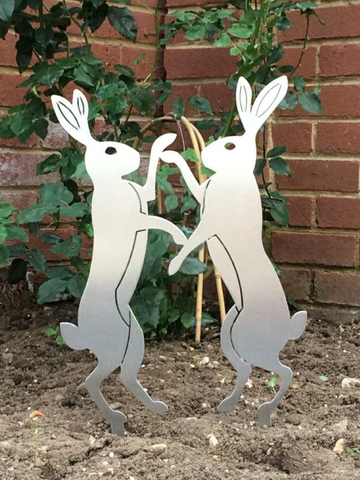 acero inoxidable conejos ideas sentidos ladrillos