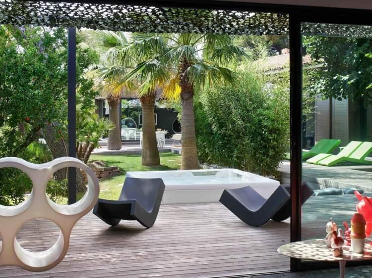 agradables estilos patios conceptos redes