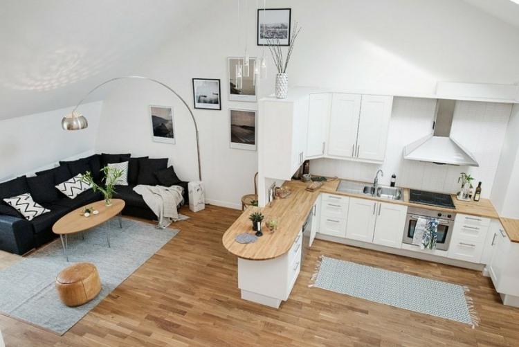 alfombras estantes frentes cocinas lineas