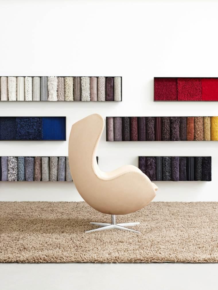 alfombras peludas manteles pieles color