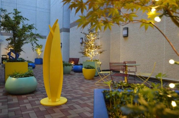 amarillo conceptos salones fuentes pintura