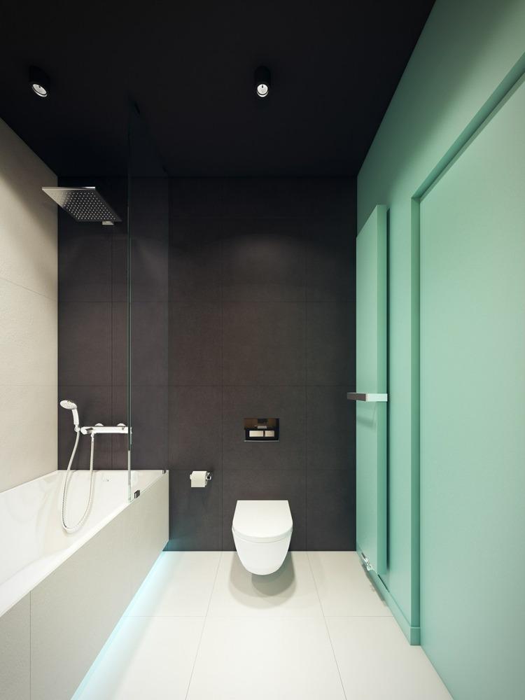 ambientes madera baño salas led