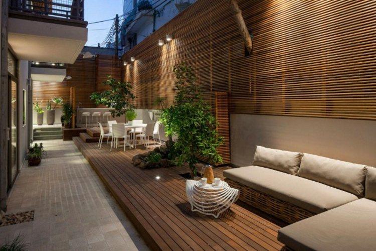 aparatamento moderno jardin BLV Design Architecture ideas