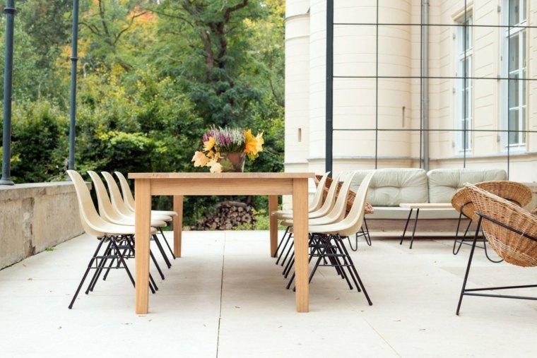 apartamento cerca berlin comidas aire libre terraza muebles ideas