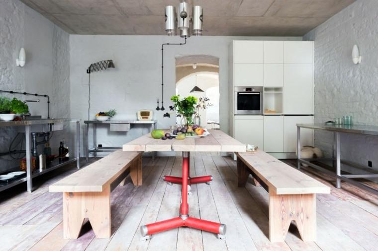 apartamento verano cerca Berlin cocina diseno ideas