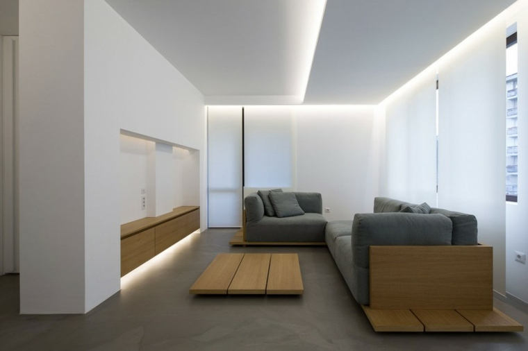 apartmento diseno minimalista disenado Elia Nedkov Sofia Bulgaria ideas