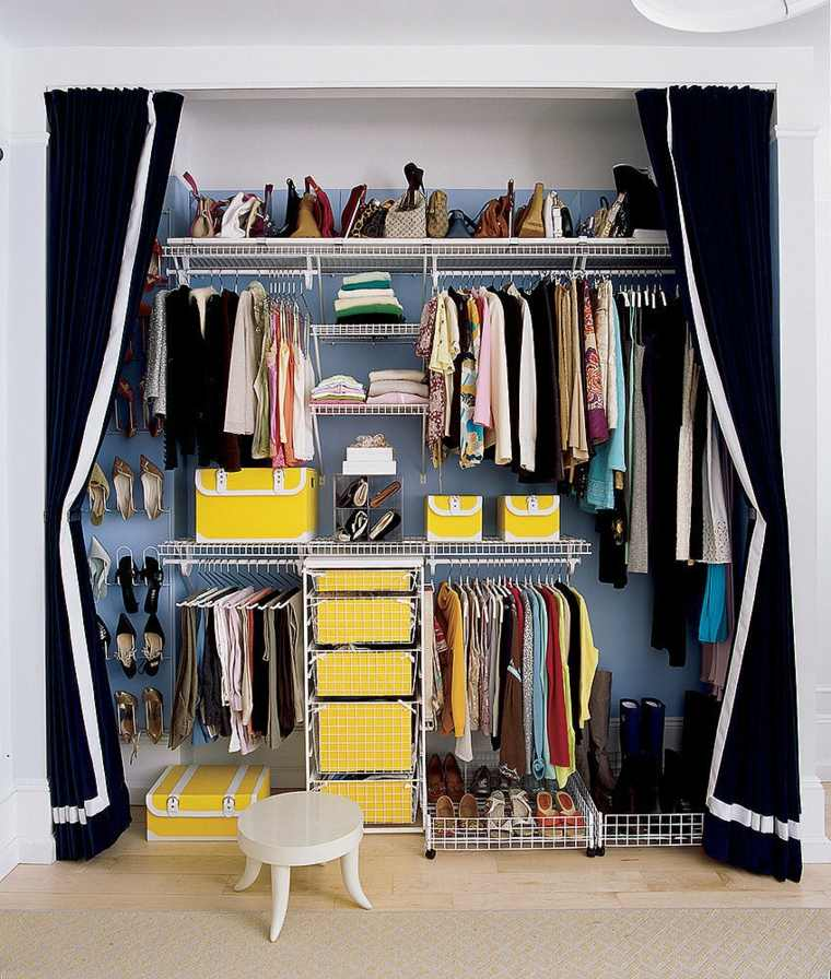 Como organizar un armario - 50 ideas útiles y prácticas -