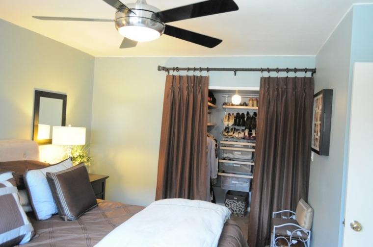 Como organizar un armario 50 ideas tiles y pr cticas for Como blanquear cortinas