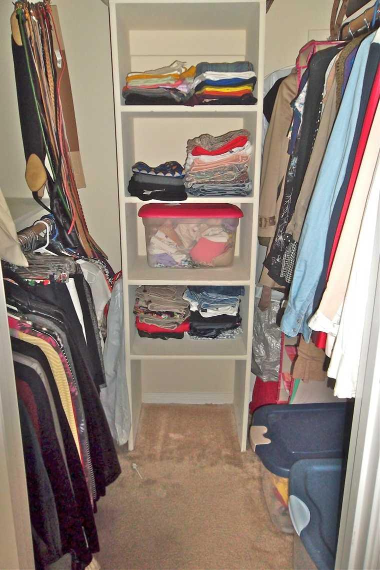 armario vestidor mueble estantes ropa
