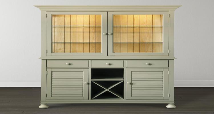 armario moderno diseño vintage verde