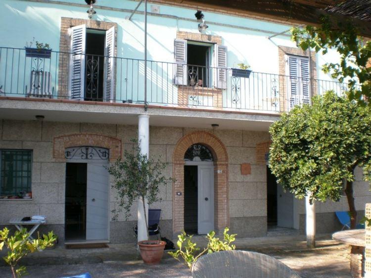 arquitectura italiana patio terraza tradicional