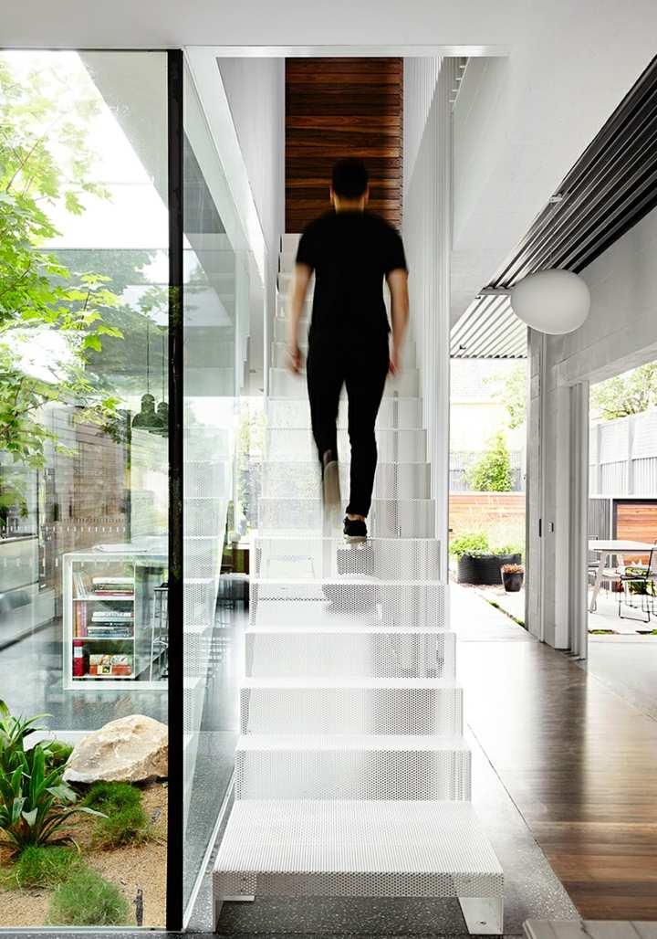 arquitectura viva detalles tenciones cuerdas escalones