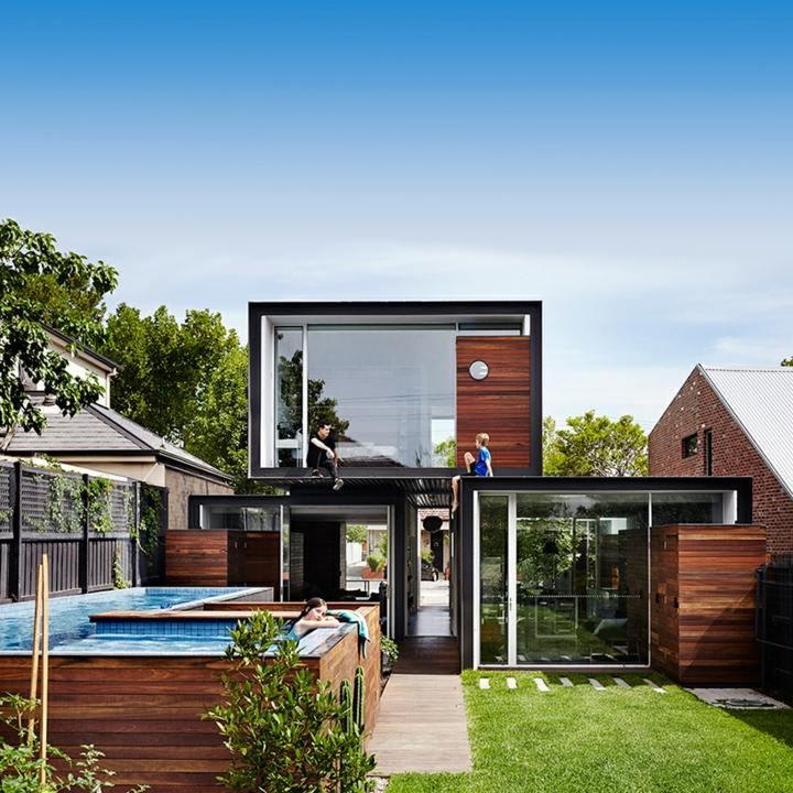 arquitectura viva detalles tenciones piscinas patio
