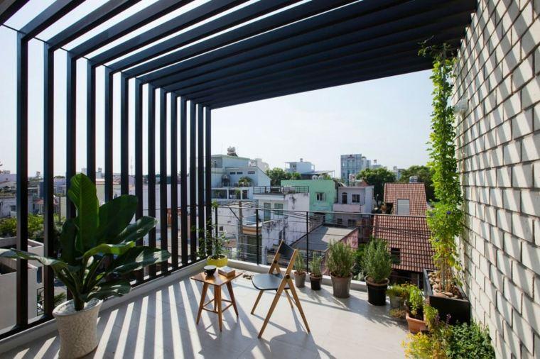balcon ciudad apartamento opciones disenos ideas