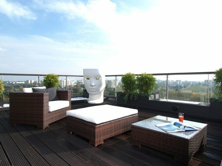 Muebles a medida e ideas para decorar el balc n - Barbacoa de balcon ...