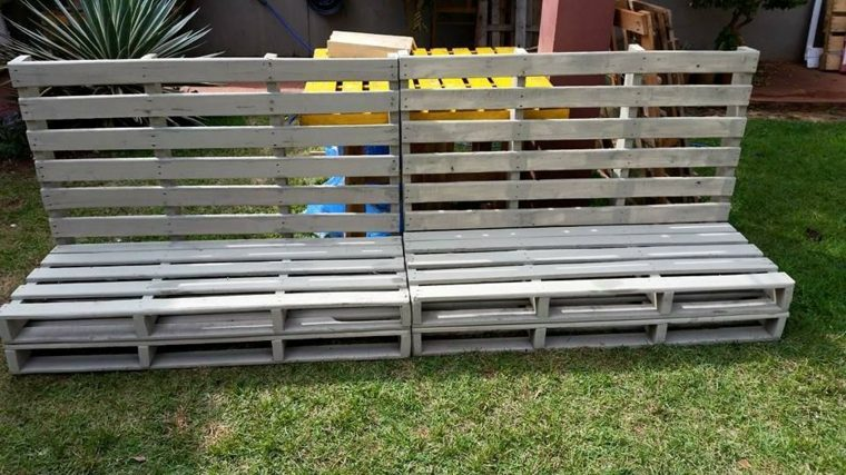 bancos jardin madera plates
