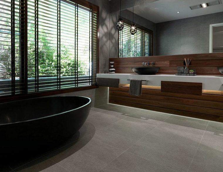 Imagenes impactantes de baños modernos esta temporada -