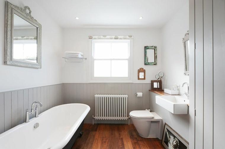 Baño Minimalista Gris:Imagenes impactantes de baños modernos esta temporada -