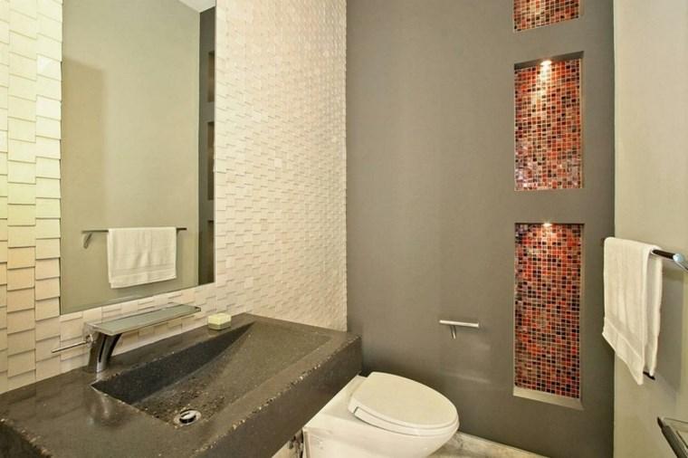 Mosaicos 115 dise os de ba os atractivos y coloridos for Ante banos disenos modernos