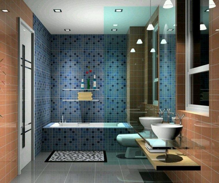 bano moderno opciones decoracion lavabos blancos ideas