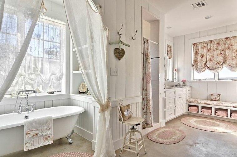 muebles de baño estilo vintage