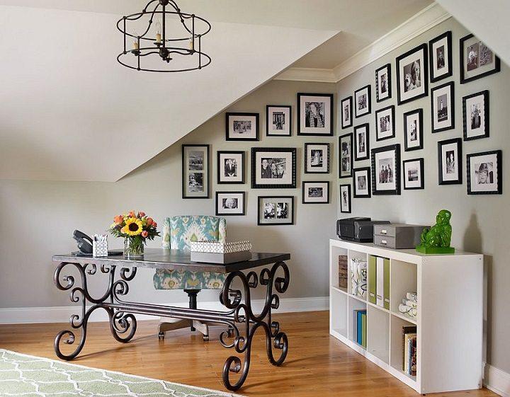 Blanco y negro colores para hacer una oficina nica for Oficinas modernas concepto