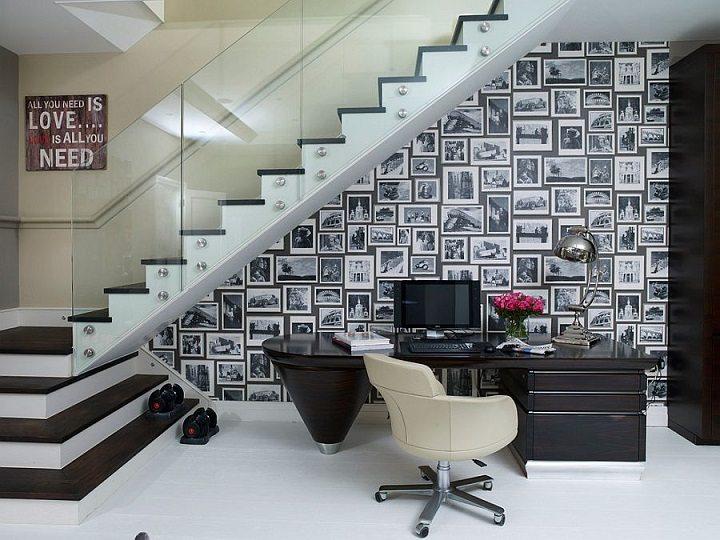 Blanco y negro colores para hacer una oficina nica for Disenos de interiores en blanco y negro