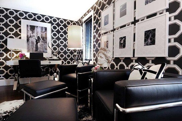 blanco y negro esquemas oficinas muestras paredes