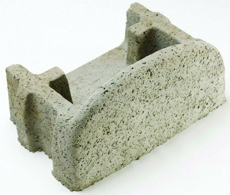 bloques jardineras cemento jardin VERDURA