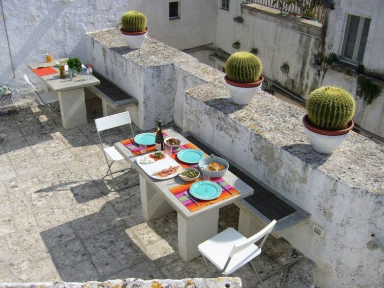 boita decoración terraza moderna