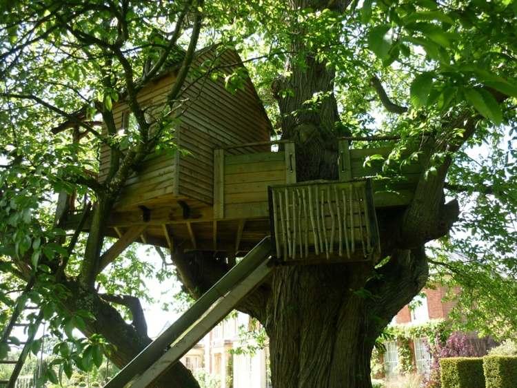 Casas en los arboles espacios para una diversi n for Arboles para interior casa