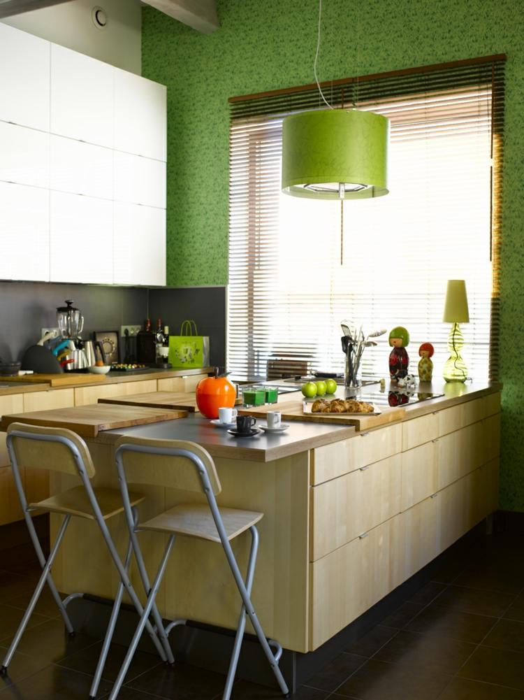 bonita cocina pequeña moderna