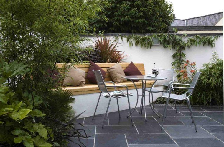 bonita decoración terraza pequeña