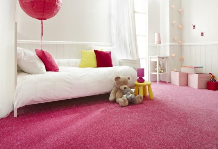 Cuarto infantil dise o moderno habitaciones compartidas - Alfombra habitacion nina ...