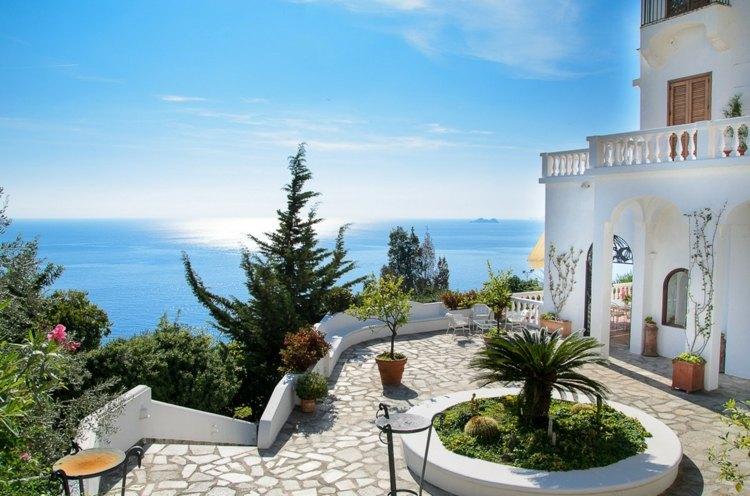 bonita terraza glorieta vistas