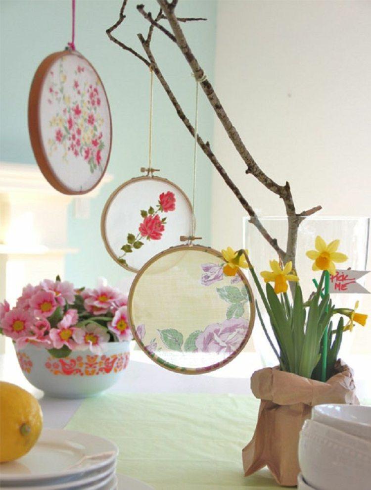 bonita decoración mesa adornos