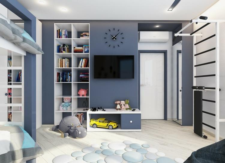 bonitas paredes azul paloma