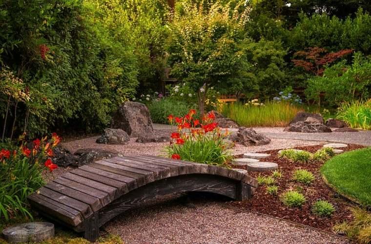 bonito diseño jardín moderno
