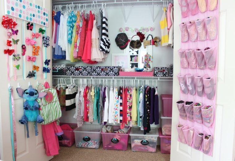 Como organizar un armario 50 ideas tiles y pr cticas - Ideas para decorar zapatos de nina ...
