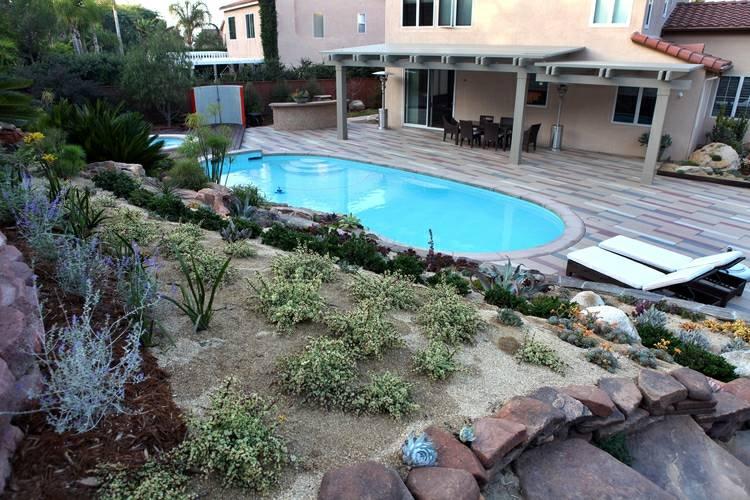 bonito diseño jardin terrazas