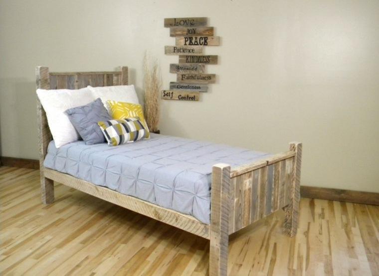 bonito diseño madera cama juvenil