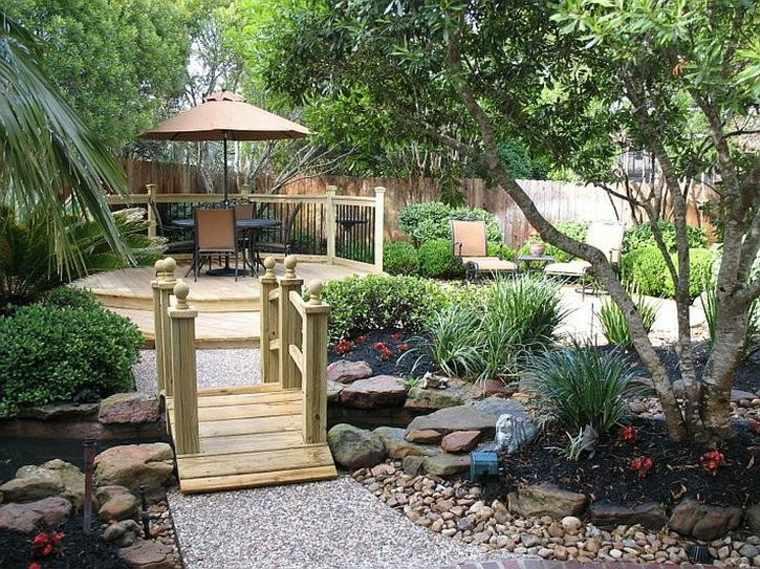 bonito diseño glorieta jardín moderno
