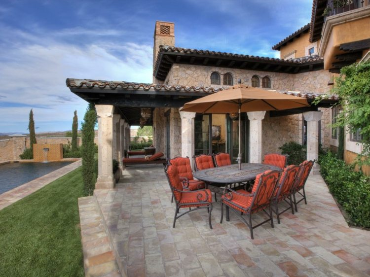bonito diseño jardin terraza