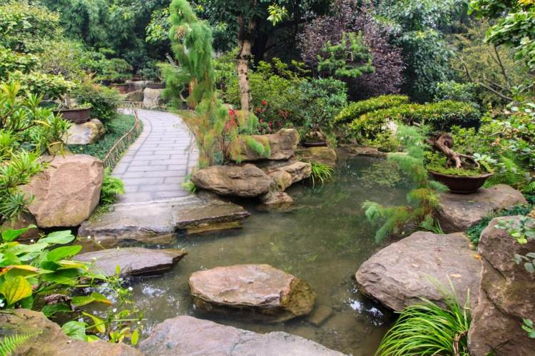 Feng shui en el jard n vs jardines japoneses zen for Estanque japones